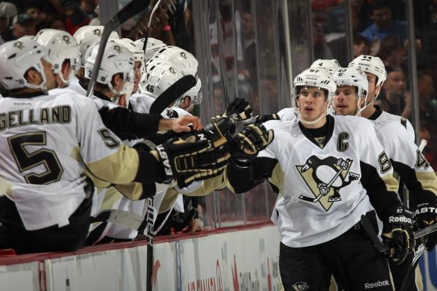 Pittsburgh Penguins: Sidney Crosby Leads Pens Past New Jersey
