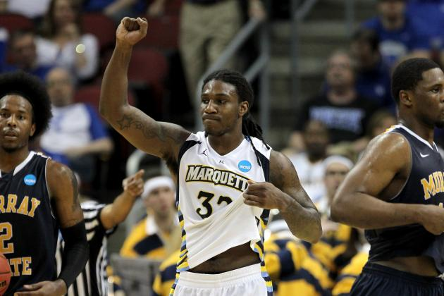 NCAA Scores 2012: Marquette and Biggest Winners from Saturday's Action
