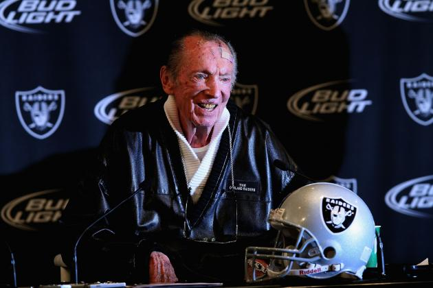 NFL Free Agents 2012: Oakland Raiders Being Left Behind in the AFC West?