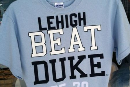 NCAA Scores 2012: 'Lehigh Beat Duke' and 'Michi-Gone' Shirts Add Tourney Appeal