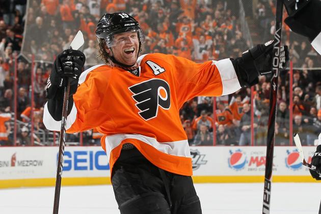 Philadelphia Flyers: Watch Scott Hartnell End Penguins' 11-Game Win Streak