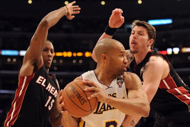 NBA Rumors: Why Derek Fisher Should Be Welcomed by LeBron and D-Wade