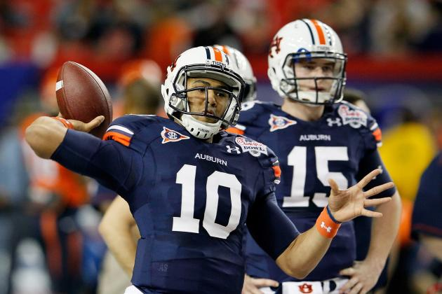 Auburn Football 2012: A Look at the Quarterback Position for Spring Training