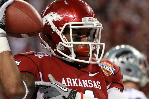 2012 NFL Draft's Biggest Sleeper: Arkansas Wide Receiver Jarius Wright