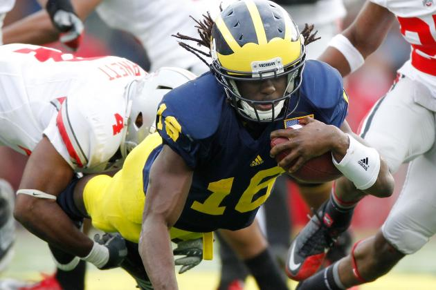 Michigan Football: Why Denard Robinson Must Shelf NFL Talk