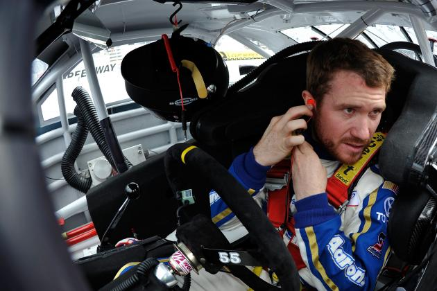 Brian Vickers Saves His Sprint Cup Career at Bristol