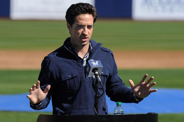 Ryan Braun Case Is Signal That Issue of PEDs Are Never Going  Away