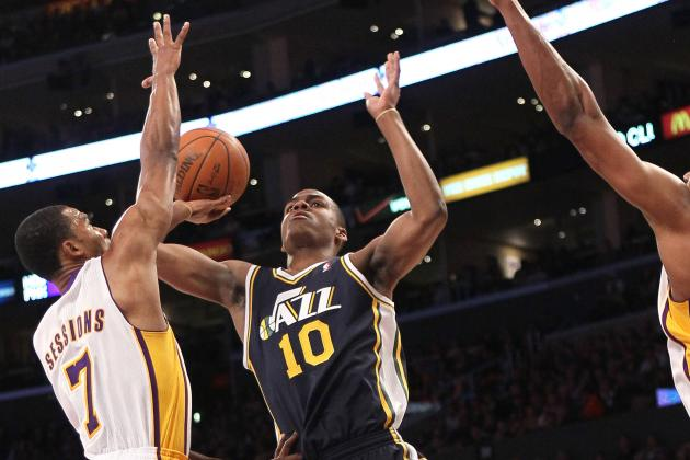 Utah Jazz: Alec Burks Shines in Fourth Quarter Against Lakers, C.J. Miles Done?