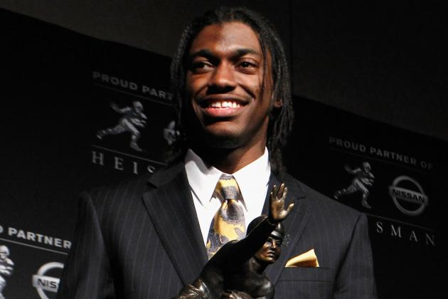 Robert Griffin III Should Be a Better Rookie Than Michael Vick Was