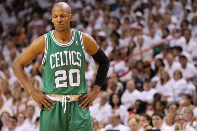 Boston Celtics' Ray Allen Sizes Up, Stays Steady on the Court