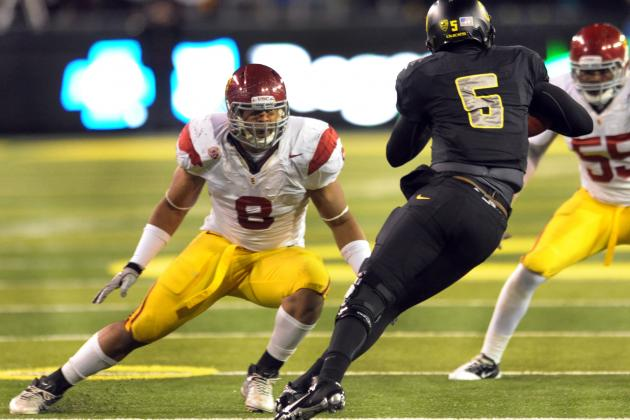 Dallas Cowboys 2012 Draft: Is USC Defensive End Nick Perry a Good Fit?