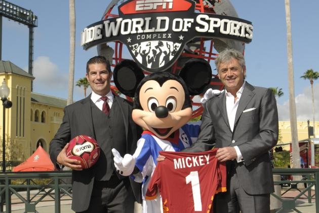 Football Power AS Roma Is Going to Disney
