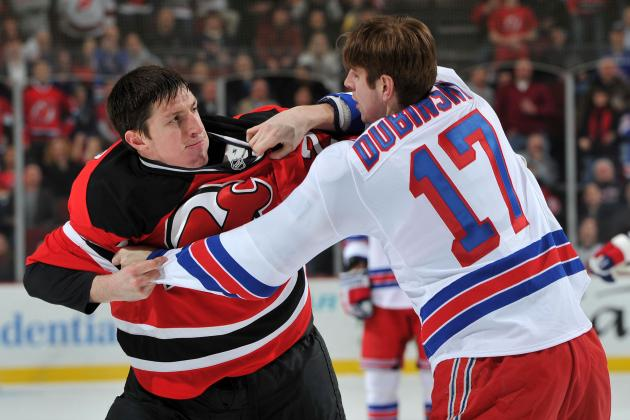 Devils vs. Rangers: Reminding Fans How Disgraceful the NHL Can Be