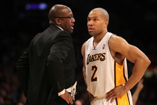 NBA Rumors: Derek Fisher, Lamar Odom and Jeremy Lin Enraged by Their Teams