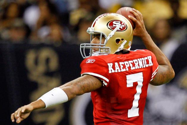 Colin Kaepernick, Franchise Quarterback Already on San Francisco 49ers Roster
