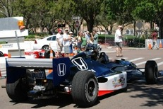 Street Legal IndyCar Ride in St. Petersburg Is Speed Without Issue