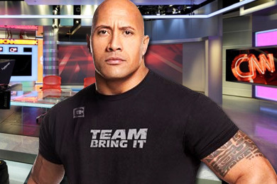 WWE: Will The Rock Take over CNN Headquarters in Atlanta?