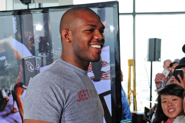 Jon Jones: Rashad Evans Doesn't Have My Number