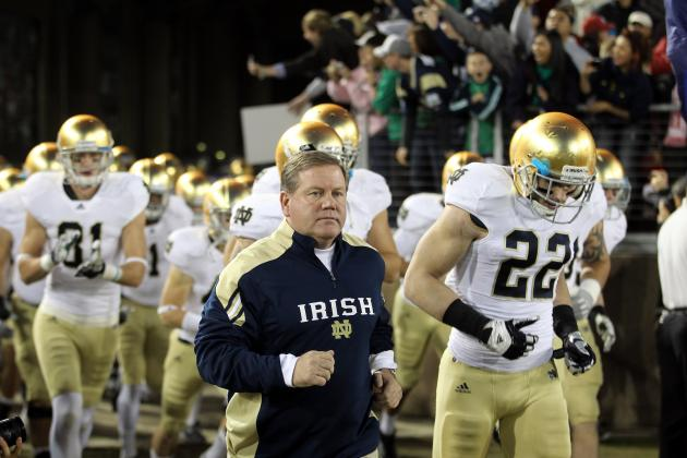 Notre Dame Football: Why Gunner Kiel Must Remain on Irish's Bench