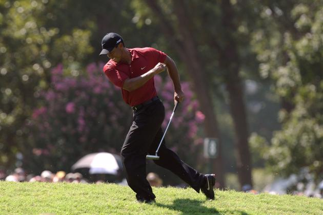 How Tiger Woods Really Injured His Left Knee