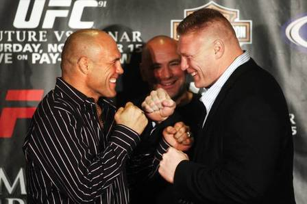 Randy Couture Answers, 'Was Brock Lesnar the Strongest Guy You've Ever Faced?'