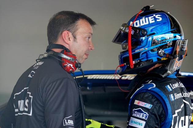 Jimmie Johnson and Chad Knaus' Penalty Gets Overturned