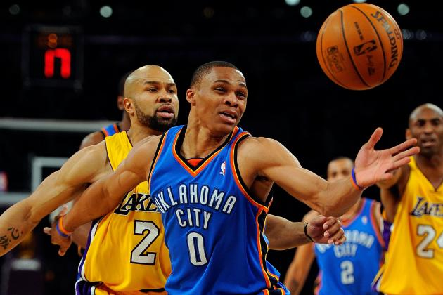 Derek Fisher in an Oklahoma City Thunder Uniform? Sources Say Yes.