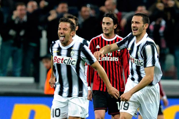 Juventus vs. AC Milan: Juventus Claim Win in Extra Time in TIM Cup Semifinals