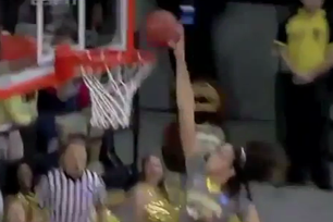Women's Tourney: Brittney Griner Dunks