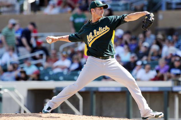 Oakland Athletics Spring Training 2012: Grant Balfour Named Full-Time Closer