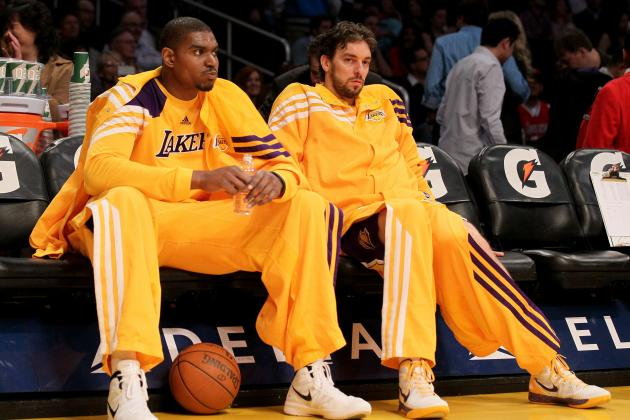 Los Angeles Lakers: Andrew Bynum's Big Problem