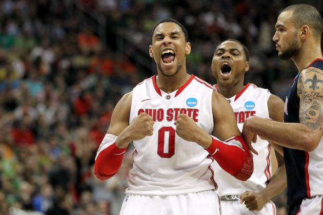 Sweet 16 Bracket: Jared Sullinger and Forces Who'll Carry Teams into Elite 8