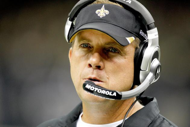 Sean Payton of New Orleans Suspended for 2012 Season
