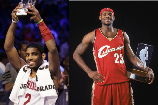 Is Kyrie Irving Having a Better Rookie Year Than LeBron James?