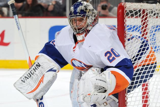 Evgeni Nabokov Happy to Sign One-Year Extension with the New York Islanders