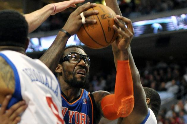 Knicks vs. 76ers: Amar'e Stoudemire's Resurgence Leads New York over Philly