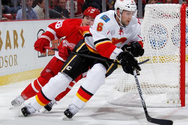 Calgary Flames' Cory Sarich Keeping the Pace