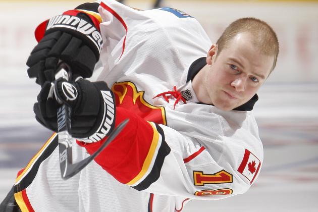 Matt Stajan of Calgary Flames Named NHLPA Player of the Week