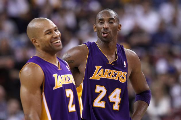 Kobe Bryant on Facing Derek Fisher Next Week: 'I'm Going to Demolish Him'