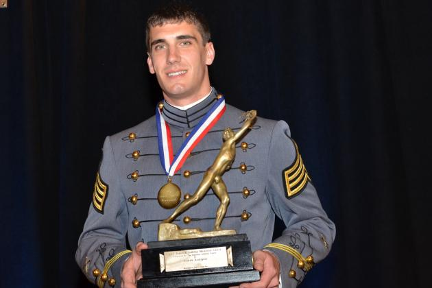 West Point Football: Talking with AAU Sullivan Award Winner Andrew Rodriguez