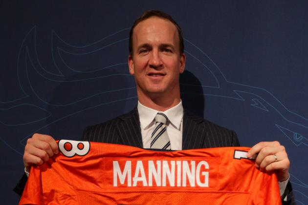 2012 NFL Free Agency: Projecting the Denver Broncos with Peyton Manning
