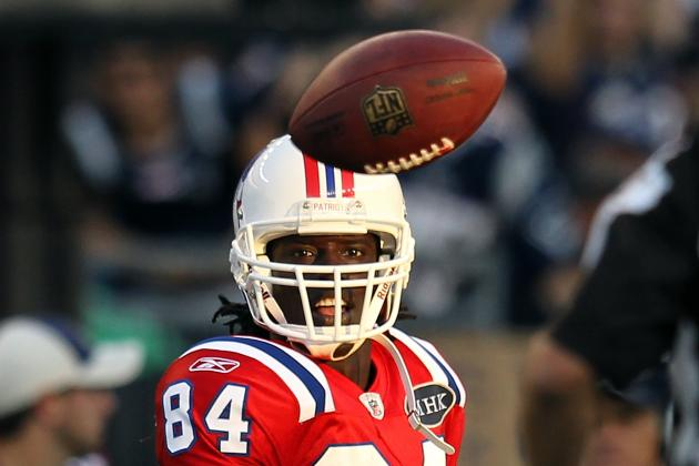Deion Branch Coming Back Makes Pats Wide Receivers Best in the League