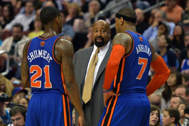 New York Knicks Must Give Mike Woodson Head Coaching Job Next Year