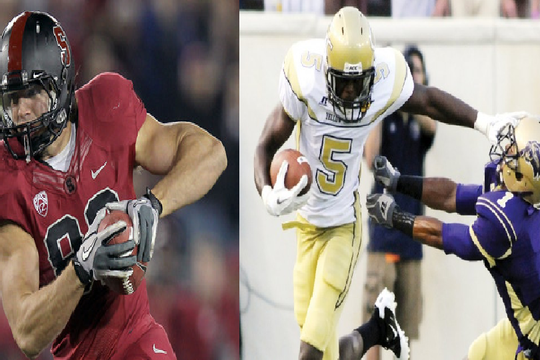 San Francisco 49ers Draft: Coby Fleener or Stephen Hill?
