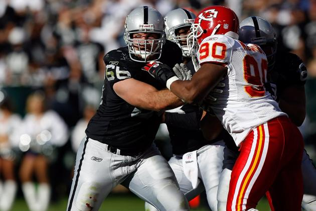 Oakland Raiders:  Offensive Line Expecting Major Changes
