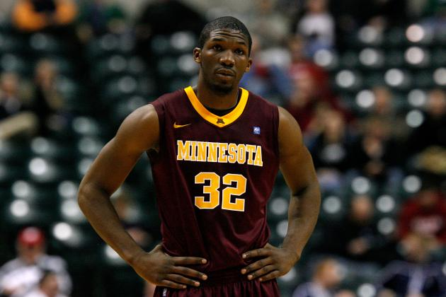 Minnesota Basketball: Trevor Mbakwe's Return Gives the Gophers a Boost for 2013