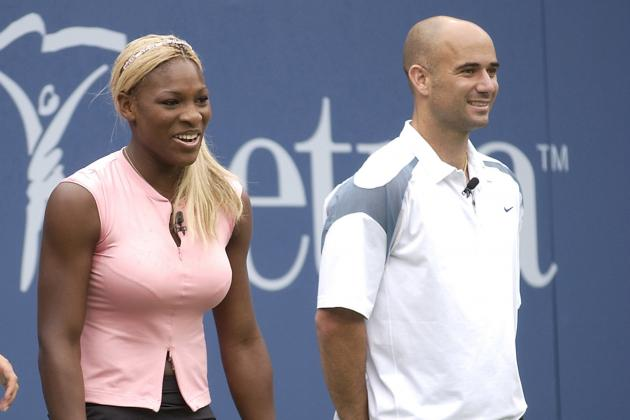 Serena Williams vs. Andre Agassi: March Madness Tennis (Part 4 of 4)