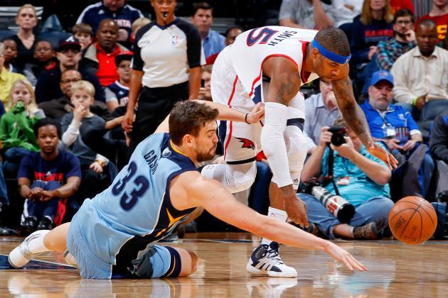 Can Marc Gasol and Memphis Grizzlies Survive Gauntlet of Tough Games?
