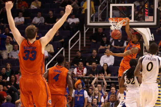 March Madness 2012: Florida's 5 Key Matchups Against Louisville in Elite 8