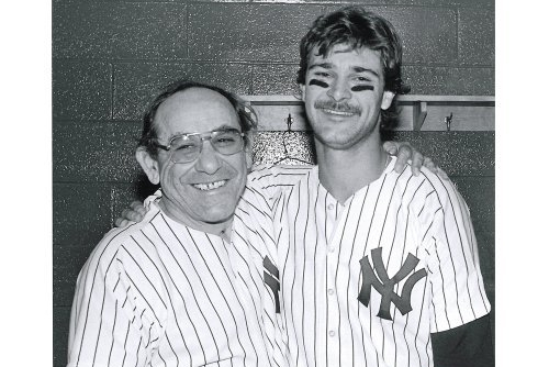 Don Mattingly Is in a Class with Yankees' Greats DiMaggio and Berra